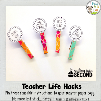 Make photocopying easier and more efficient with this teacher life hack.