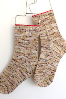 Toasty Twirl Socks