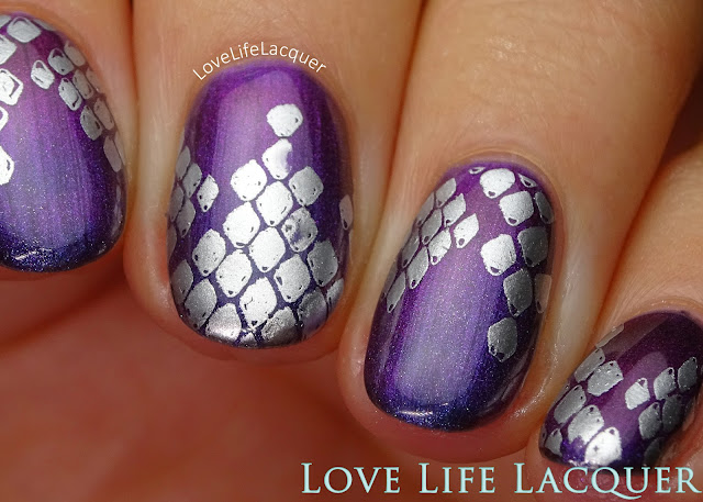 Bundle Monster snake skin stamping