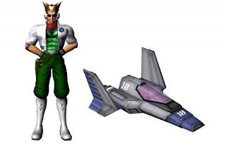 F-zero Jame McCloud Star fox