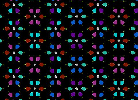 Vector Textile Design Seamless pattern 2342