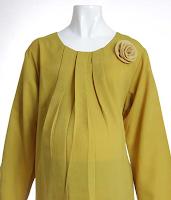 Model baju muslim terbaru untuk ibu hamil