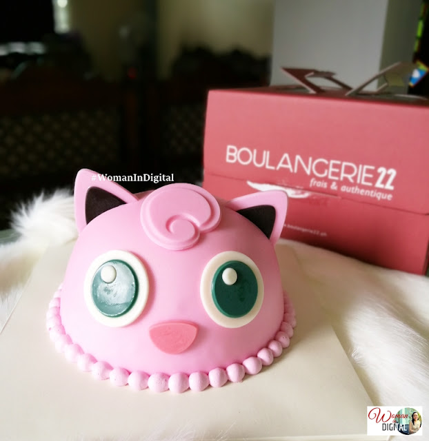 Jigglypuff Strawberry Cake