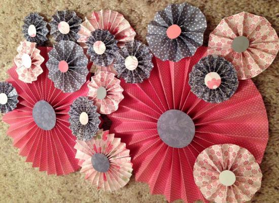Paper flowers, decorazioni matrimonio