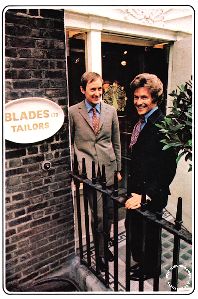 Blades 1960s Tailoring