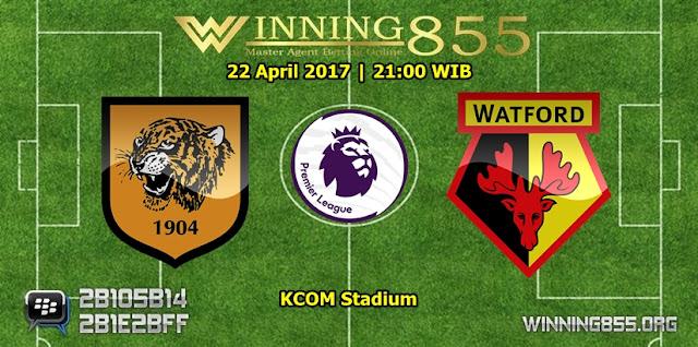 Prediksi Skor Hull City vs Watford 22 April 2017
