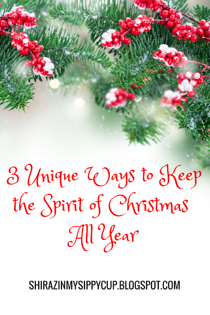 These three tips on how to keep the spirit of Christmas all year are things you can easily incorporate into your everyday life to bring out all the happy.