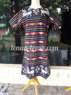 Dress Wanita Bahan Kein Bkanket Jepara