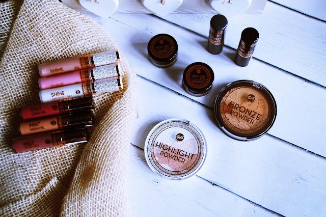 Bell Desert Rose, kosmetyki biedronka, bell, rozświetlacz, pomada, pomadki matowe