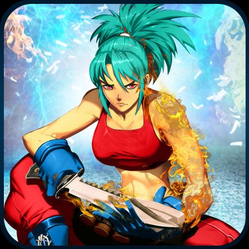 تحميل لعبة Ultimate Street Super Girl Fight 2018 v1.2 مهكرة وكاملة للاندرويد