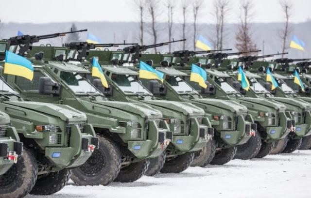 Hadapi Rusia, Ukraina Habiskan Anggaran US $ 264 juta Untuk Memodernisasi