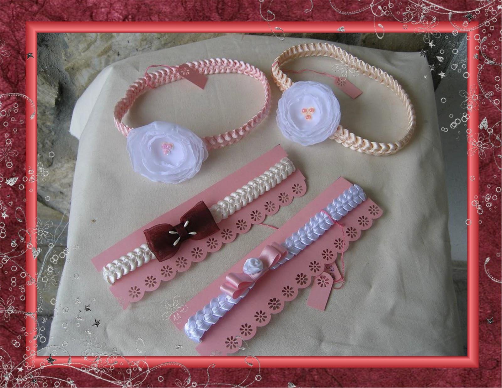 El taller de la marquesa Diademas trenzadas para beb
