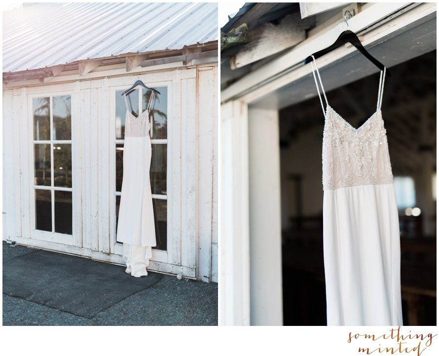 Beaded wedding gown inspiration by Something Minted Photography