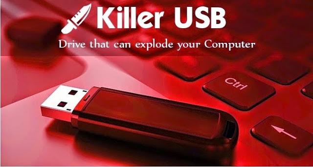 فلاشة   Killer USB المدمرة لأي حاسب تتصل به