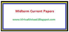 ZOO501 Midterm Current Paper 12 Dec 2017