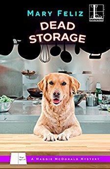 Bea's Book Nook, Review, Dead Storage, Mary Feliz