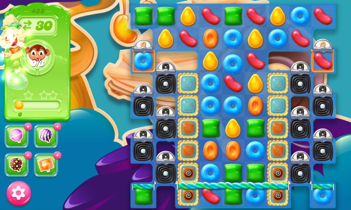 Candy Crush Jelly Saga 438