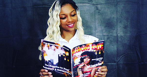 Kandice Sherril, founder of Diamon Elite Magazine