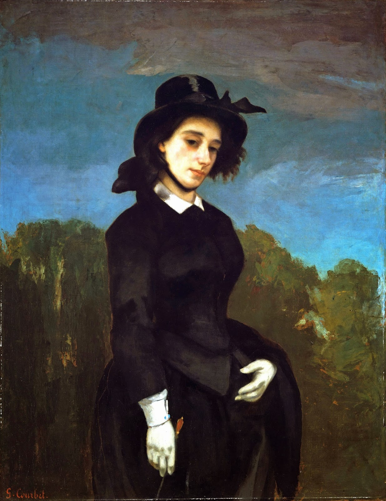 Peinture Française du 19ème Siècle: Gustave Courbet (1856)