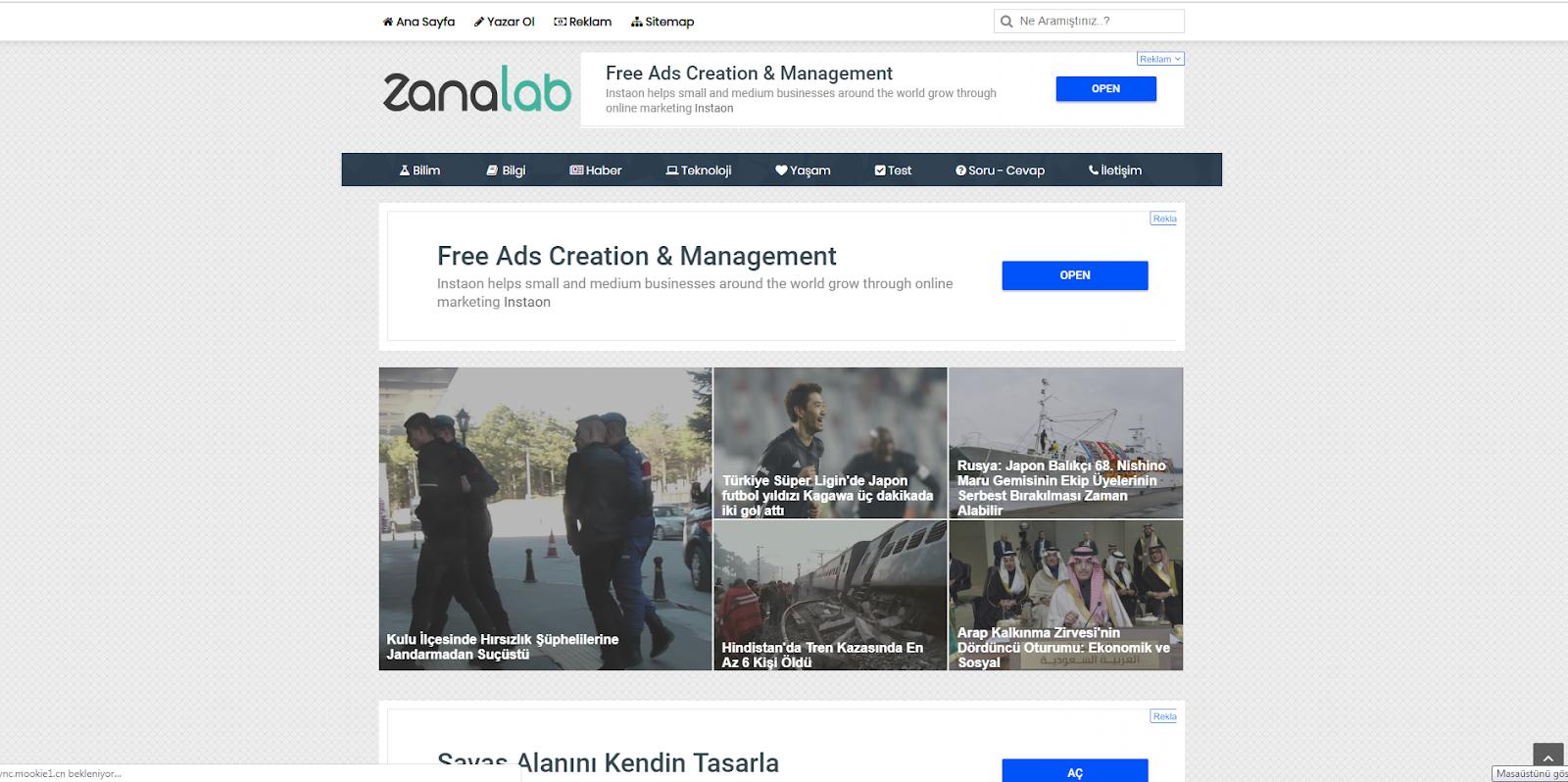 ZanaLab Yeşil Blog v2.0 Blogger Teması ( 2019 + Responsive + Adsense Uyumlu ) + Bol Reklam Kazançlı Blogger Teması