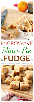 Microwave Mince Pie Fudge