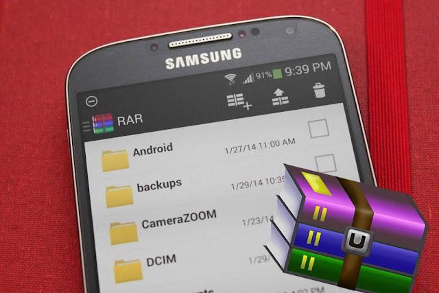 abrir archivos RAR en Android