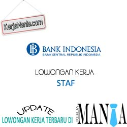 Lowongan Kerja Terbaru Bank Indonesia (BI)