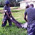 Omg! See the Uganda massacre between the Police and the Royal guards ...graphic photos