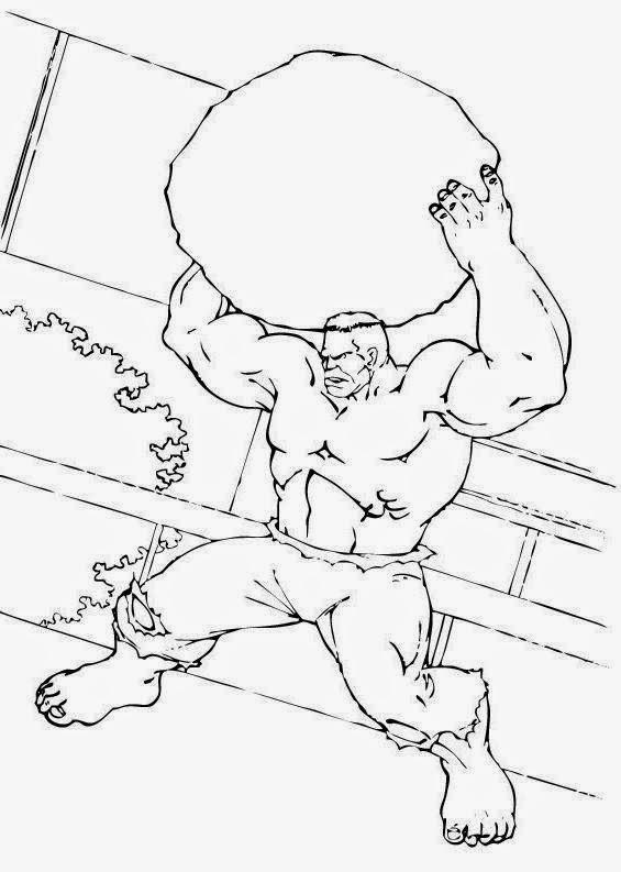 Clube Da Cor Atividades Escolares Desenhos Do Hulk Para Colorir