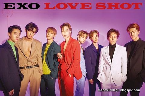 Lirik Lagu EXO Love Shot dan Artinya