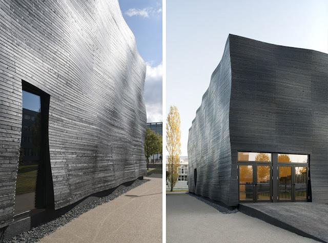 Revestimientos de madera en exterior espacios en madera - Revestimiento de fachadas exteriores ...