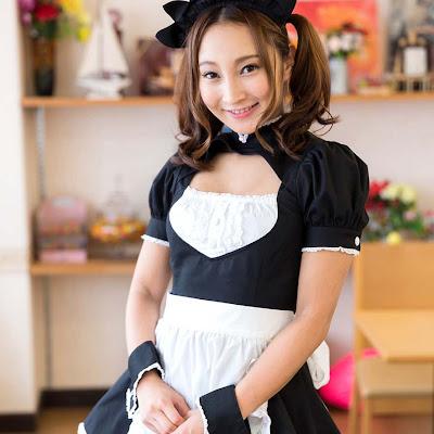 Tải ảnh XXX hầu gái Uika Hoshikawa bú cu ông chủ