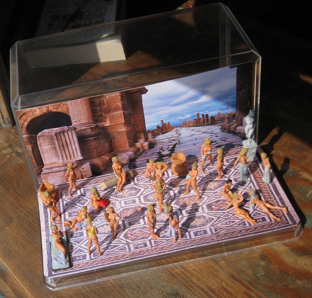"Themes 43: Diorama ""Roman Baths"""