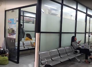 Ruang tunggu Baraya Travel