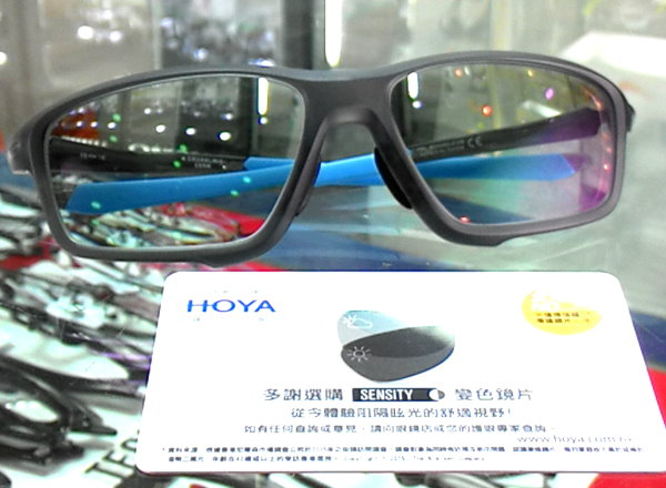 精明眼鏡公司: Hoya Sensity Oakley Crosslink-Zero