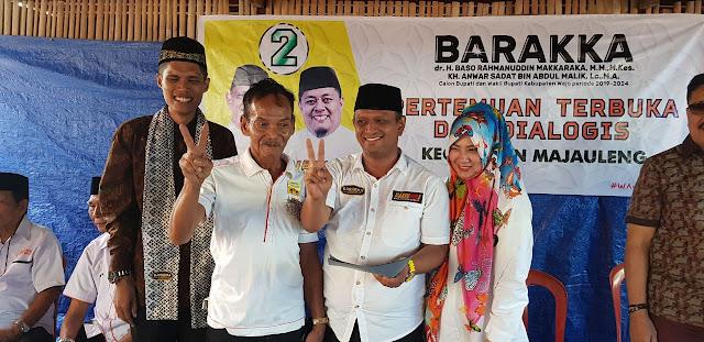 Masyarakat Desa Tua Nyatakan Dukungan ke BARAKKA