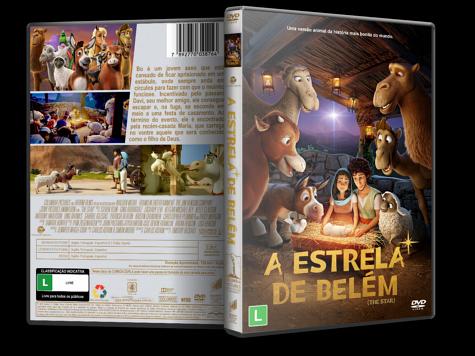 Capa DVD A Estrela de Belém [Custom]