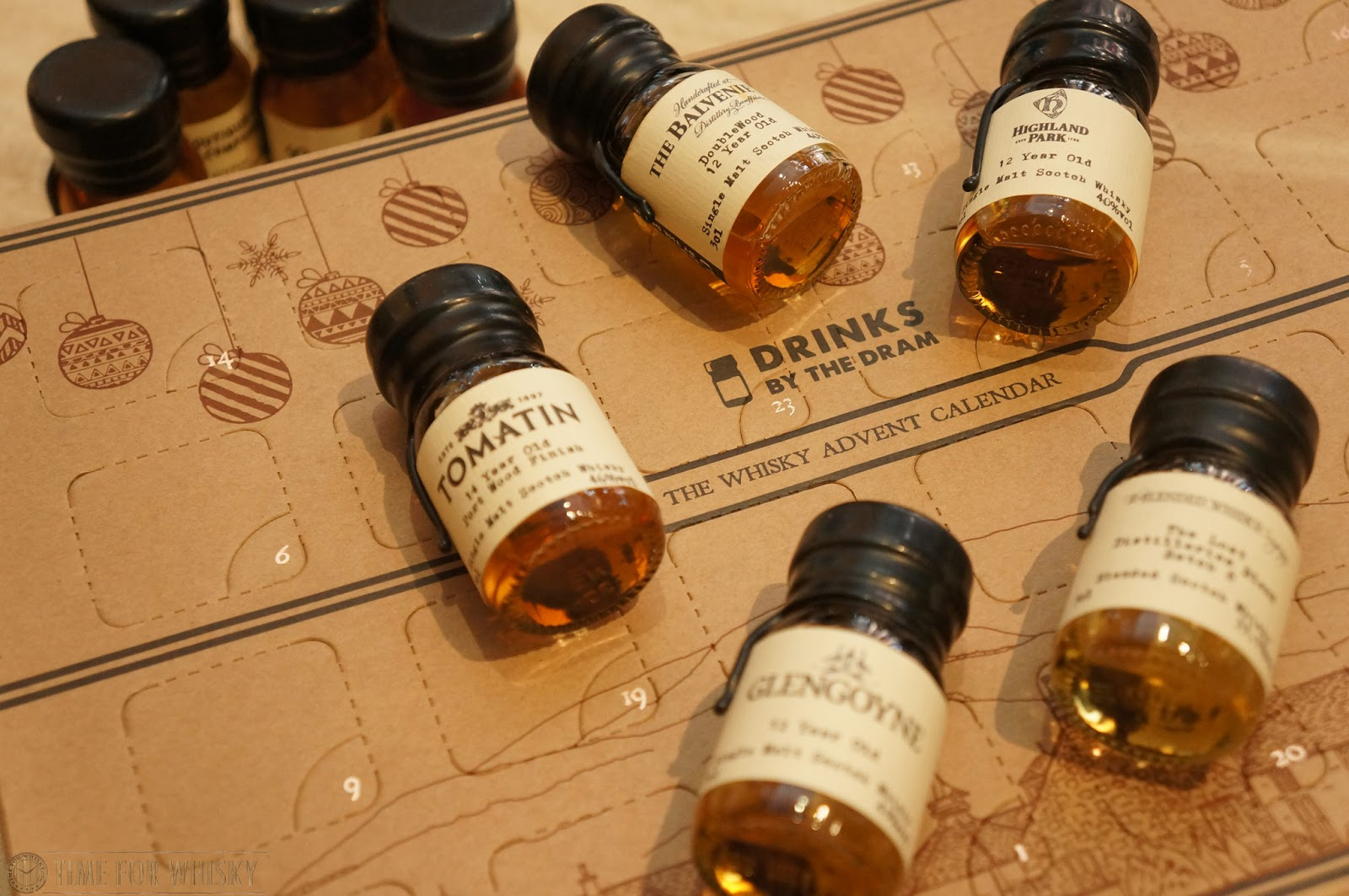 Review Whisky Advent Calendar 2016 By Drinks The Dram