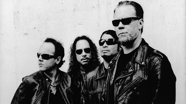 Wallpaper of Heavy Metal Band Metallica Photo