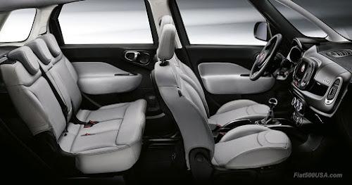 New Fiat 500L interior