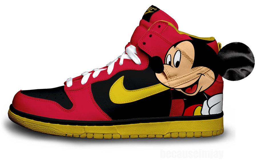 dunks nike mouse mickey mickey nike dunks nike mouse EIHD9W2