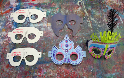 verna vogel mask prototypes