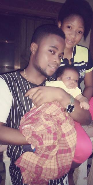 How Internet Marketer Saporu Kolawole Turned His Girlfriend Oluwasharon Omotolani To Unexpected Babymama