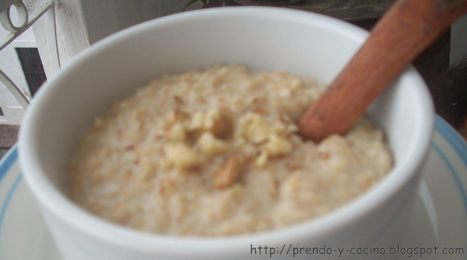 Aprendo Y Cocino Avena Para El Desayuno