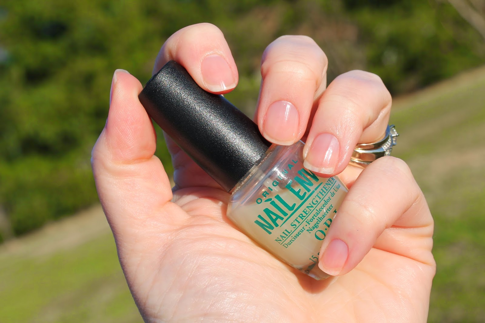 Manicure Musts: OPI Nail Envy - At the Pink of Perfection