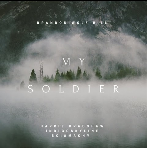 """Listen to new song by Brandon Wolf Hill """"My Soldier"""" (ft. Harrie Bradshaw, Indigoskyline & Sciamachy)"""