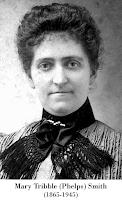 Portrait, Mary Tribble (Phelps) Smith (1865-1945).