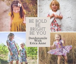 Dot Dot Smile by Erica Anne - comfortable, affordable children's clothing and twirltastic dresses!