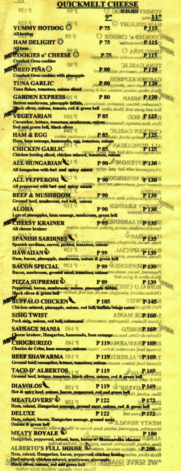 Alberto S Pizza Mandaue City Cebu