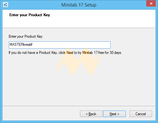 free minitab product key